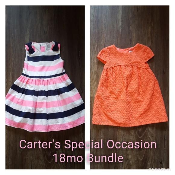 d6c1df129e4ea Carter's Dresses | Carters Special Occasion Bundle Size 18m | Poshmark